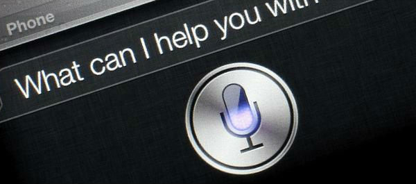 apple siri display